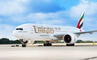 opóźniony lot Emirates